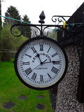 Time keeper clock london. Picture of our outside clock stock images