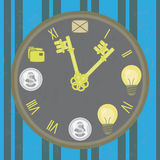 Time is the key Royalty Free Stock Photos