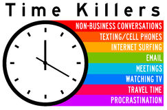 Time killers Royalty Free Stock Photography