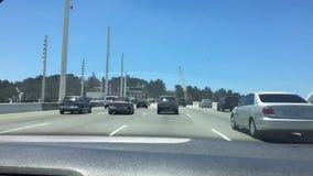 Time Lapse Bay Bridge stock footage