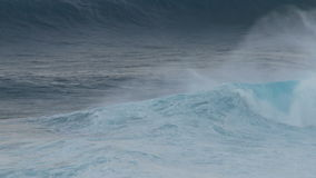 Time Lapse of Big Ocean Waves - Maui Hawaii. Time Lapse of Big Waves.  Filmed with a Sony EX3 stock video footage