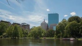 Time lapse Boston Public Garden Stock Photos