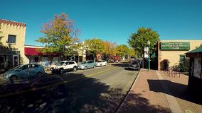 Time lapse traffic, Olde Town, Arvada, Colorado