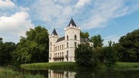 Time lapse castle Beverweerd Werkhoven stock footage