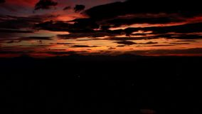 Time lapse of Chaing Mai city morning zoom out. Time lapse of Chiang mai province of northern Thailand in viewpoint sunset with beautyful cloudy sun shine zoom stock video
