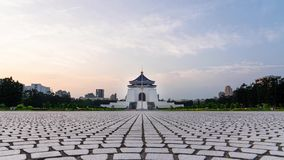 Time-lapse of Chiang Kai-Shek Memorial Hall and Liberty Square