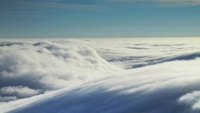 Time lapse of clouds stock video footage