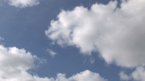 Time Lapse of Clouds moving stock footage