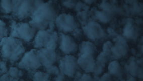 Time-Lapse Clouds in the Sky. Clean HD time-lapse of puffy clouds flying by, growing and evaporating in the sky. Shot on HD 1080P stock footage