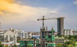 Time Lapse : Construction Crane stock footage