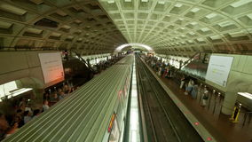 Time Lapse of the DC Metro -  4K - 4096x2304 stock video footage