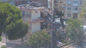 Time Lapse de construction de démolition banque de vidéos
