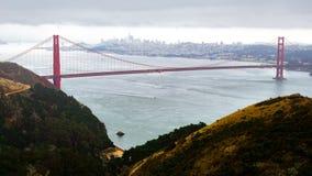 Time lapse de puente Golden Gate almacen de metraje de vídeo