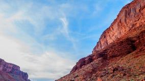 Time lapse del paisaje de Utah metrajes