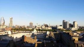 Time Lapse del paisaje urbano de Londres metrajes