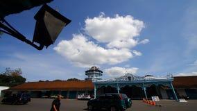 Time lapse del palacio de Surakarta almacen de video