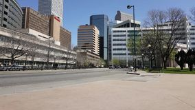 Time lapse from downtown Denver. A time lapse of the traffic in downtown Denver, Colorado stock video