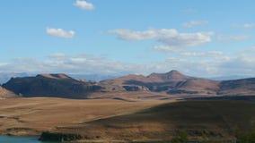 Time lapse - Drakensberg mountain landscape stock video footage