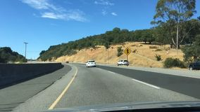 Time Lapse Drive to Napa stock video footage