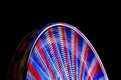 Time Lapse Ferris Wheel Carnival Ride Royalty Free Stock Images