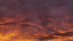 Time lapse footage of clouds with vivid colors. Dreamy. Hallucinogenic. 4K stock footage