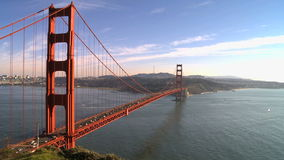Time Lapse of the Golden Gate Bridge San Francisco stock video footage