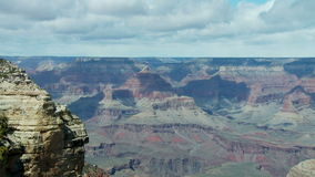 Time Lapse of the Grand Canyon - Clip 4 stock video footage