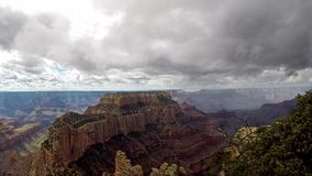Time lapse at the Grand Canyon stock video footage