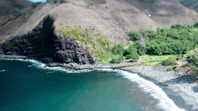 Time Lapse of Hawaiian Bay Maui Hawaii. Scenic Bay and Beach in Maui Hawaii stock footage