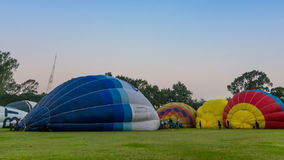 Time Lapse Hot Air Balloon stock video