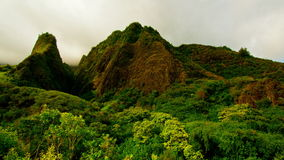 Time Lapse Iao Valley Maui Hawaii - 4K stock footage