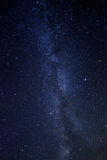 Time Lapse Image of the Night Stars Stock Photo