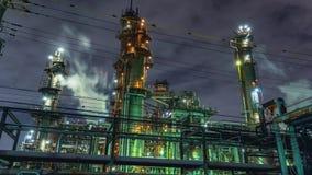 Japan - Kawasaki - Industrial Area Time Lapse 4K stock video footage