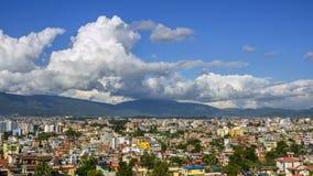 Time-lapse of Kathmandu in Nepal stock video
