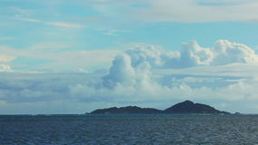 Time lapse of landscape at Seychelles islands. Time lapse of ocean landscape at Seychelles islands stock footage