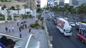 Time Lapse of the Las Vegas Strip stock video footage