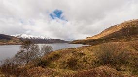 Time Lapse Loch Cluani Scotland stock video