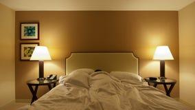 Time Lapse of Man Sleeping