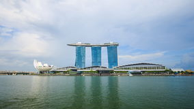 Time-lapse of marina bay, urban landscape of Singapore. 4k Time-lapse of marina bay, urban landscape of Singapore stock video footage