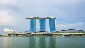 Time-lapse of marina bay, urban landscape of Singapore. 4k Time-lapse of marina bay, urban landscape of Singapore stock video