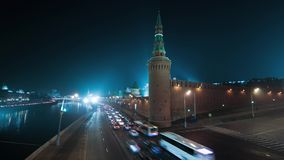 4K Time lapse in Moscow stock video footage