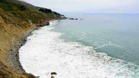 Time Lapse of Northern California Coast Beach Ocean. Timelapse of northern California coastline