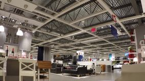 Time Lapse Of People Shopping Their Furniture Inside Ikea Store ...
