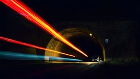 Time Lapse Photo of Tunnel stock images