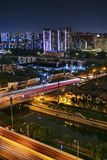 Time Lapse Photography of City during Night Time Stock Photos