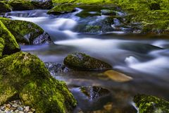 Time Lapse Photography Of River Stock Images