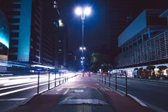 Time Lapse Photography of Vehicles during Night Stock Photos