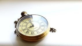 Time Lapse Of Pocket Clock stock footage