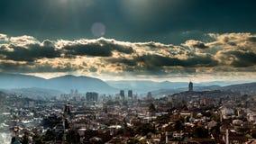 Time Lapse Sarajevo stock footage