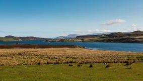Time lapse of Scottish landscape stock video